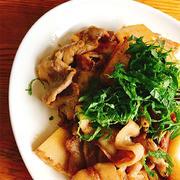 豚肉と筍の炒め煮