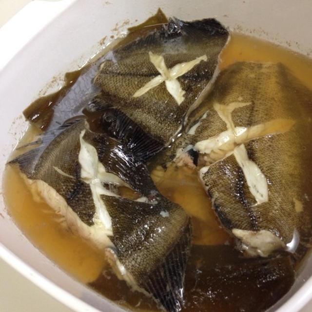Aneカレイ煮魚♪