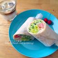 サラダラップ(朝食2015.6.15)