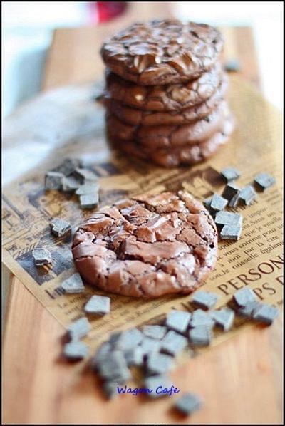 Wチョコ☆ ブラウニークッキー