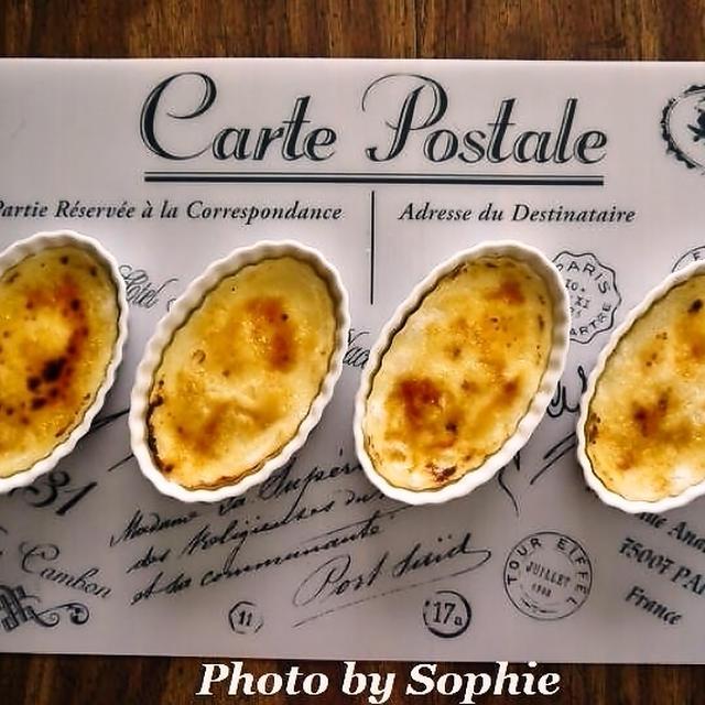 キャラメルチーズケーキ・ブリュレ風のレシピ