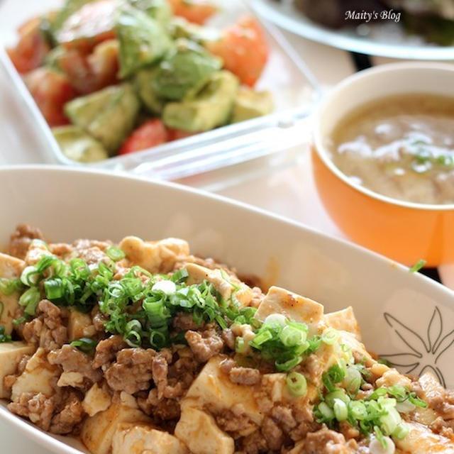 豆腐と挽肉の旨炒め