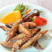 秋刀魚のしょうが風味のスティック揚げ♪