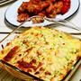 【ベジ飯】レンジ&オーブンで作るかぼちゃのクリーミーグラタン風、手羽元のクイジナート焼き/当たったよ、忘れた頃にw