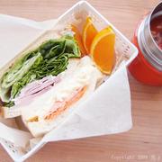 サンドイッチ弁当と、たこやきなんぼマンボ