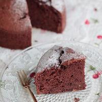 ラム酒香る♪チョコレートケーキ