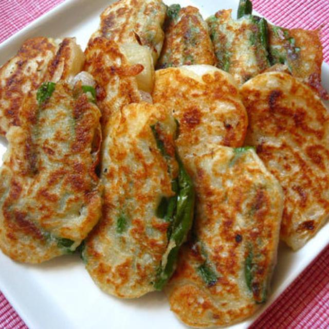 野菜のミニチヂミ
