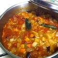濃縮野菜のミネストローネ