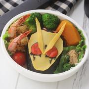 【キャラ弁レシピ動画】仮面ライダーゼロワンのお弁当
