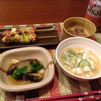 20150714★晩ご飯 夏野菜♪
