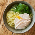 【鶏スープを手作り!】鶏の柚子胡椒ラーメン