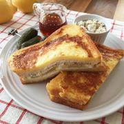 ブルサンレシピリレー9品目は、ブルサン×レモンで南仏の香り漂うフレンチトースト♪