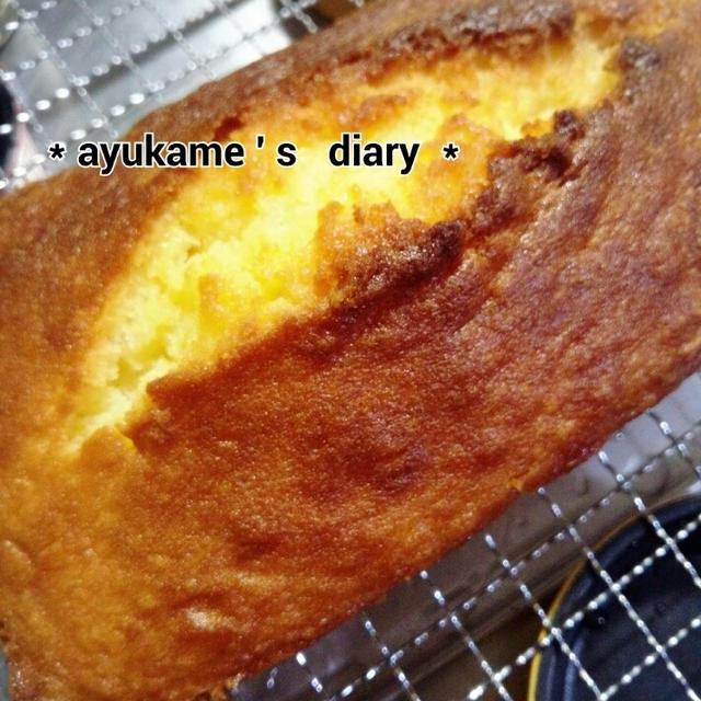 桃のパウンドケーキ (*´艸`)♡