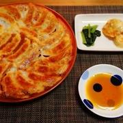 焼き餃子は焼きが大事ですなぁ☆ぷりぷり海老マヨ♪☆♪☆♪
