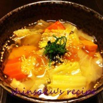 梅肉のデトックススープ