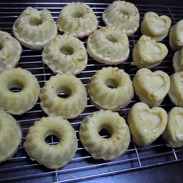 おからドーナッツ(レシピあり)・・・