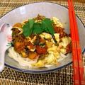 北京の味♪卵入りトマトソースのヌードル
