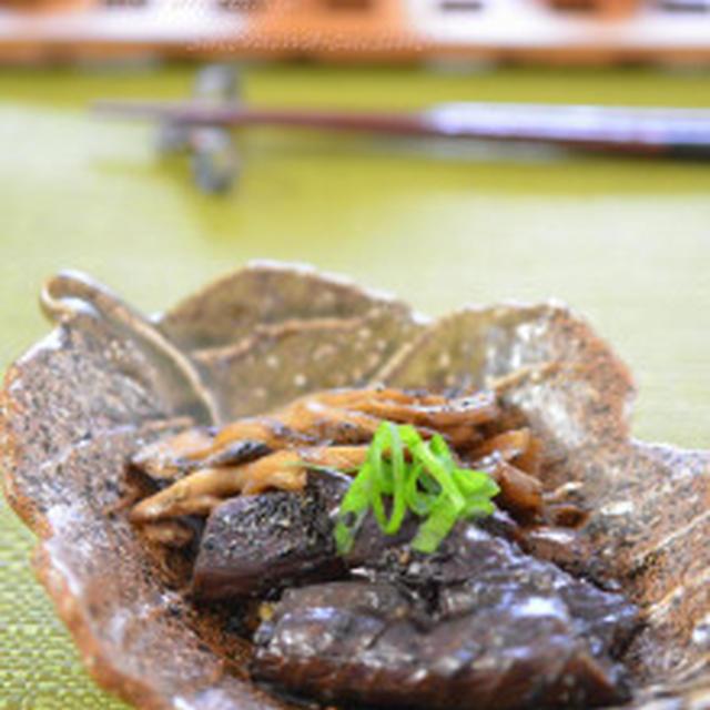 秋のほっこり煮物✿ 茄子と舞茸のオイ胡麻煮