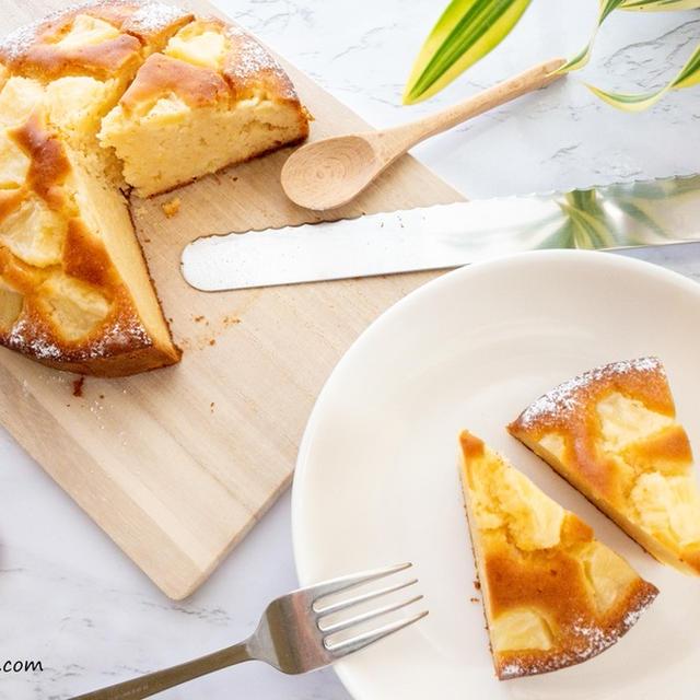 シークヮーサー香る♡米粉のパイナップルケーキ【レシピ】Rice Flour Pineapple Cake with Okinawan Citrus Fruit