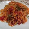 災害時の簡単レシピ・世界一旨い1Minute Maidのトマトスパ