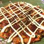 グッバイ低糖感。絶品オクラチーズのキムチお好み焼き(糖質11.0g)