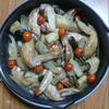 鳥手羽のオーブン焼き