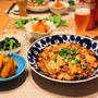 『麻婆豆腐』とストウブで『小さいおかず』の献立。
