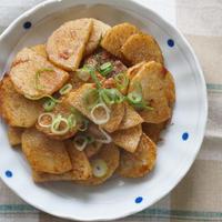 調味料2つ!5分で完成!長芋のオイスターソース炒め-簡単✻時短✻節約