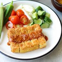 『とんかつ風』高野豆腐カツ