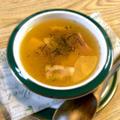 おろし冬瓜とベーコンのだしスープ