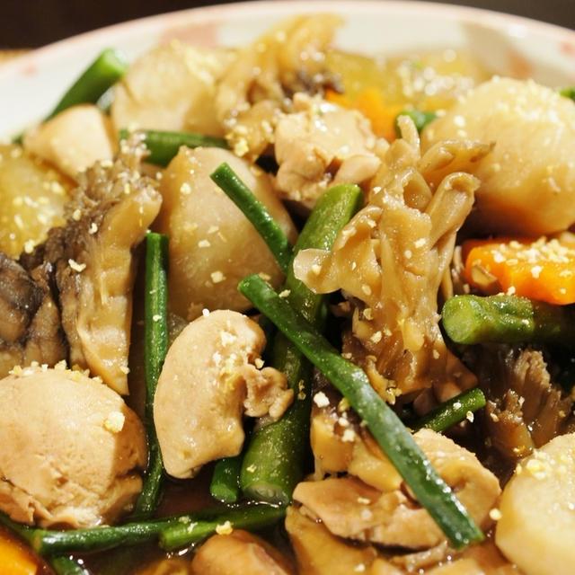 季節が香る【秋鮭腹子と冬瓜/里芋の炊き合わせ】が レシピブログさんのこんだてnoteで紹介されました。