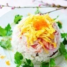 春のお祝いに♪華やか&カンタンちらし寿司