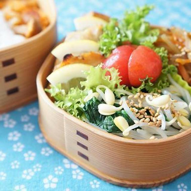 お弁当×野菜ジュースで炊いたピラフ+目玉焼き