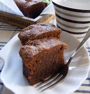 焼きチョコみたいな♪濃厚ケーキ