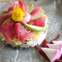 ゆず香るプチケーキ寿司