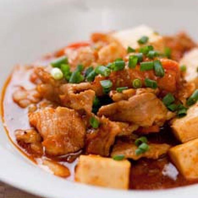 豚キムチde麻婆豆腐