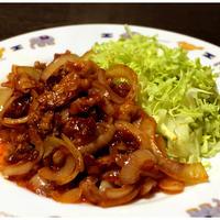 ジンたれ料理「炒り豚編」