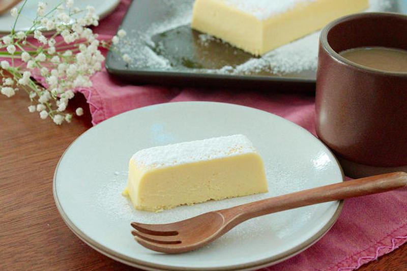 おうちバレンタインを楽しもう!ホワイトチョコ派さんにもオススメ。簡単&濃厚「白いチョコテリーヌ」