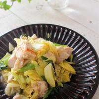 体あったまる♪鶏キャベツ炒め(レシピ)