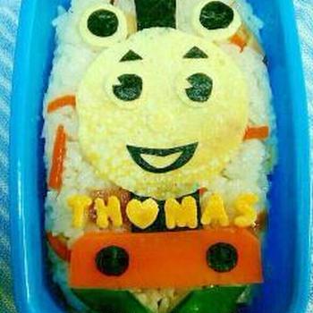 簡単に作ってみた☆トーマスちらし寿司弁当
