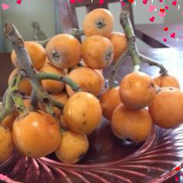 おうちでカフェ気分♪ハーブ&オレンジのさわやかビワのコンポート☆