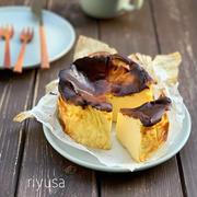 【パルテノレシピ】ホワイトチョコのバスクチーズケーキ