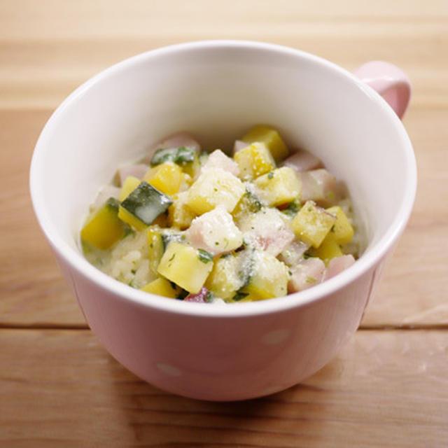 ころころ野菜のスープご飯