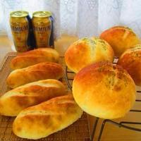 たらこマヨポテトパン♪ミックスドライフルーツのパン(^^)♪