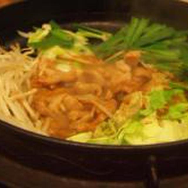 筑豊ホルモン鍋→簡単カステラ