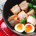 余熱調理で!豚バラの醤油煮【低糖質作り置き/staub】