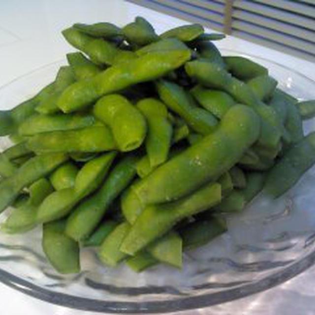 レシピ美味しい枝豆