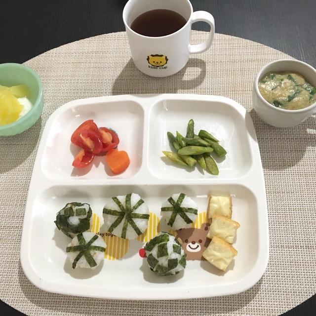 【離乳食完了期〜幼児食】サラダ菜の卵スープ