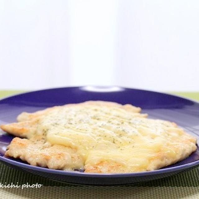 鶏ささみ肉の薄々チーズ焼き&「立ち呑み ニューワールド」が安い、美味しい