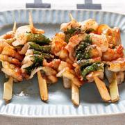 【ビールのおとも】九州の焼き鳥「豚バラ串」をフライパン3分で再現